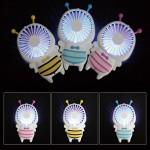 꿀벌 LED 핸드선풍기/충전식/USB선풍기/휴대용/미니