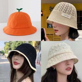 버킷햇 보터햇 모음전 /왕골 모자/라탄 모자/챙 모자/봄 여름 모자/챙넓은 모자/벙거지모자/버킷햇