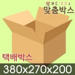 택배박스 포장박스 380x270x200 (210장) / A-SA219
