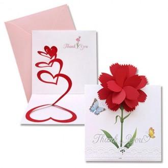 카네이션 카네이션카드 카네이션팝업카드 팝업카드