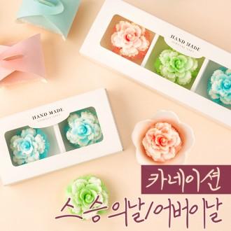 [카네이션] 디자인 수제 비누 꽃 선물세트 스승의날 단체 유치원 어린이집 답례품