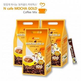 엔카페 N cafe 모카골드100T 커피믹스 믹스커피