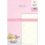 아이윙스 편지지 1000편지지 편지지세트 편지지봉투세트
