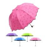 체리블라썸 미니 양우산/접이식양산/우양산/핑크/퍼플/라임/블루/벚꽃우산/우산/양산/거꾸로우산