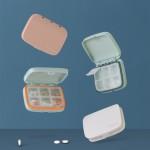 [히트템] 4칸 6칸 휴대용약통 알약케이스 약정리함 약통케이스