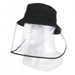 코튼 투명 안면보호 방역모자 / 바이러스 코로나 일체형 모자 / 추가금 x