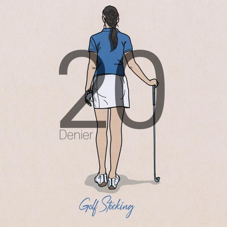 Bg2 UV차단 20D 골프 스타킹