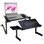 [도매셀럽] 노트북거치대/노트북테이블 노트북 받침대 각도조절독서대 침대노트북거치대 눕서대