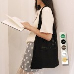 니트가방 뜨개질가방 사계절가방 숄더백 5컬러 바캉스가방