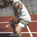 [KOTY]남성 짐웨어 스포츠 반바지(레깅스+반바지) 헬스바지 트레이닝팬츠 런닝반바지