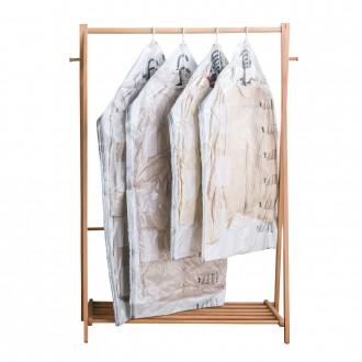 dma겨울옷보관 도구가필요없는 옷걸이압축팩