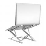 뉴엔에스 알루미늄 각도조절 접이식 맥북 노트북 받침대 거치대