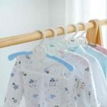 길이가 조절되는 곰돌이 아기옷걸이(5개입)