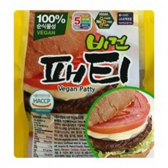 콩과 현미로 만든 콩고기 비건패티 675g(45gX15장)