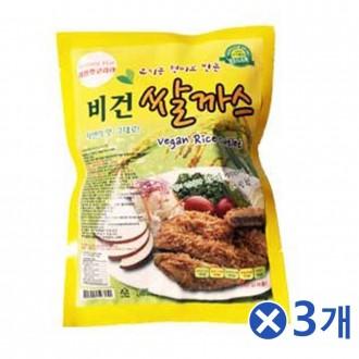 밀과 현미로 만든 비건고기 비건쌀까스 720g(80gX9p)