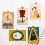 인테리어 엽서 / 카드 명작 작품 그림 수채화 유화 벽지 사진 액자