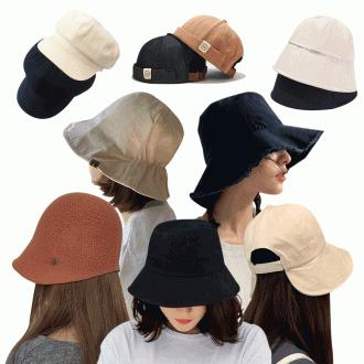벙거지모자 등산 캠핑 사파리 모자 볼캡 버킷햇 겨울모자 양털 니트 모자