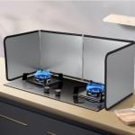 [히트템] 가스레인지 가드 3단 4단 가정용 가림막 기름튐방지 바람막이 가스렌지 버너