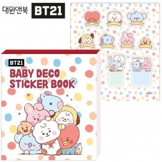 대원앤북 BT21 베이비 데코 스티커북