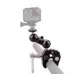고프로 히어로8 슈퍼 클램프 램 볼 마운트 방송 촬영