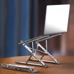 2단 접이식 노트북 거치대 맥북 받침대 알루미늄 스탠드