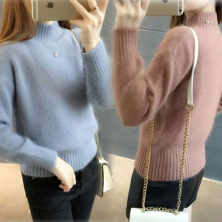 D [CESS] 5960 반목 부슬부슬 스웨터6색상