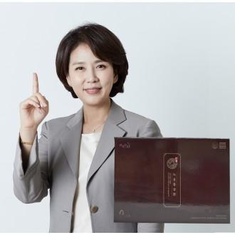 [순수한삼] 김소형 녹용홍삼환 4g x 30환 침향함유 기력회복 명품선물세트
