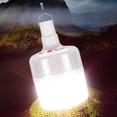[해외]D 텐트 야외 캠핑 LED 텐트 조명 라이트 램프