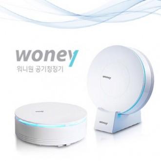 [휴가맞이 특가] WONEY 워니 차량용 공기청정기(화이트 색상)