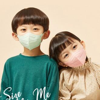 아이코코 KF94 새부리형 화이트 블랙 소형 M L 어린이 초등학생 마스크 개별포장 25매 한박스