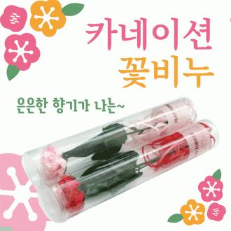 카네이션 [카네이션비누꽃(원통형)] 카네이션비누꽃/카네이션꽃/카네이션꽃비누/어버이날/스승의날/비누꽃