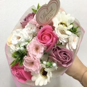 부모님 환갑 생신선물 어버이날 스승의날 결혼기념일 스승의날 여자친구 생일선물 비누꽃 플라워 미니 꽃다