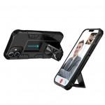 메탈 스탠드 범퍼케이스 갤럭시S21 아이폰12 스탠딩 기능과 차량용 마그네틱 거치대 기능 거치케이스