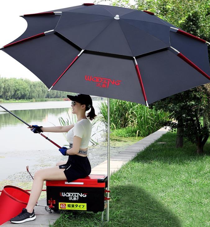[해외]D 낚시 우산 자외선 차단 파라솔 폭우방지 우산 파라솔-폭우방지 디자인