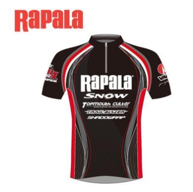 [해외]D Rapala 낚시 반팔 티셔츠 낚시복