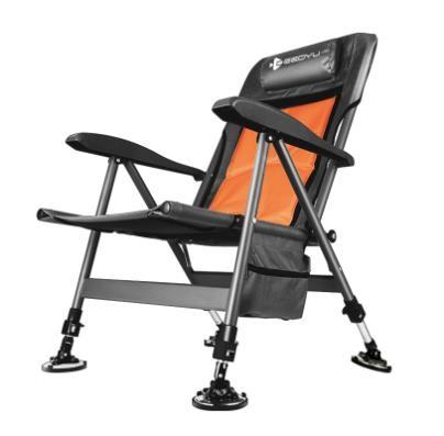 [해외]D 다용도 휴대용 낚시 의자 눕방의자 걸상