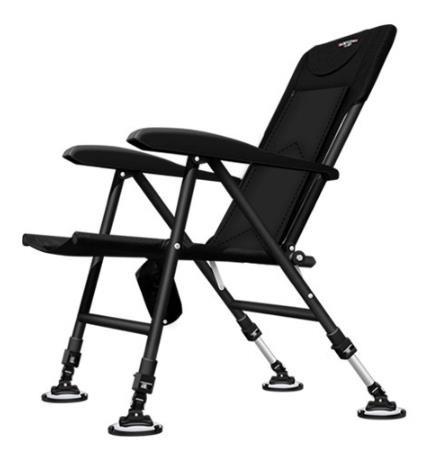 [해외]D 가벼운 낚시의자 휴대용 접이식 다용도 의자 간이의자