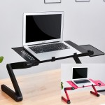 [히트템]멀티 노트북 거치대 쿨링팬 노트북테이블 각도조절 마우스받침대