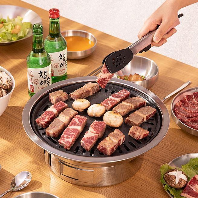 [해외]D 무연 오븐 가정용 숯불 바비큐 화로