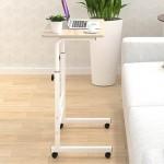 이동식 높낮이조절 조립식 테이블 / 침대책상 침대테이블 소파테이블 다용도 테이블 노트북책상 학생책상