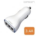 [후니케이스] 드리온 USB3포트 차량용 충전기 3.4A(케이블미포함)
