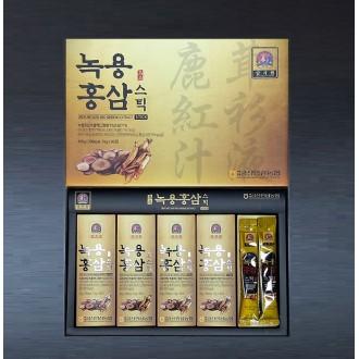 [순수한삼] 농협 명품 녹용홍삼스틱 15g X 30포 / 명절선물 / 건강식품 / 선물세트 / 건강즙