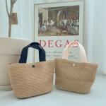 라탄 밀집 왕골 베이직 숄더백 가방