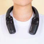 에어러블 - 저소음 저진동 초소형 목선풍기 넥밴드선풍기 목걸이선풍기 분리기능 자석고정기능 캠핑용 운동