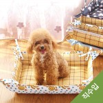 직수입2082)알렉스 방석/애완동물 매트/강아지 매트/등나무 매트/침대겸용/아이스 매트/시원한 매트