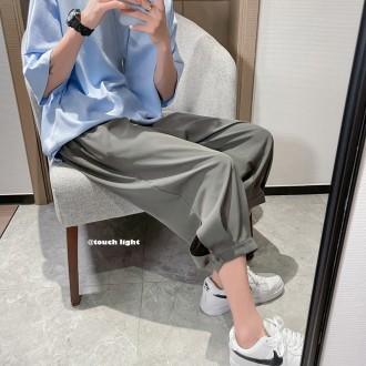 루즈핏 벌룬 7부 아이스 팬츠