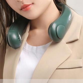 휴대용 여름 목선풍기/ 실리콘 넥밴드 선풍기/ 3단조절
