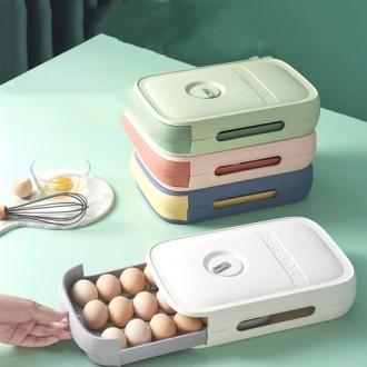슬라이딩 에그박스 계란 케이스 계란보관함
