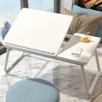 접이식 각도조절 독서대 테이블/베드트레이 좌식책상 접이식책상 침대책상 노트북테이블 보조테이블