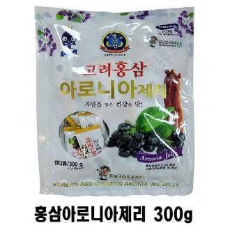 [순수한삼] 고려홍삼 아로니아제리 300g /영양간식/요양원/판촉/기업체특판